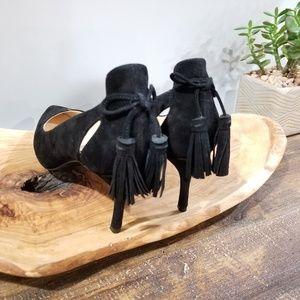 Nine West Shoes - Nine West Suede Heels with Tassels